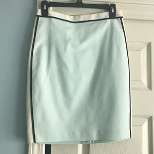 Club Monaco mint colored pencil skirt barely used